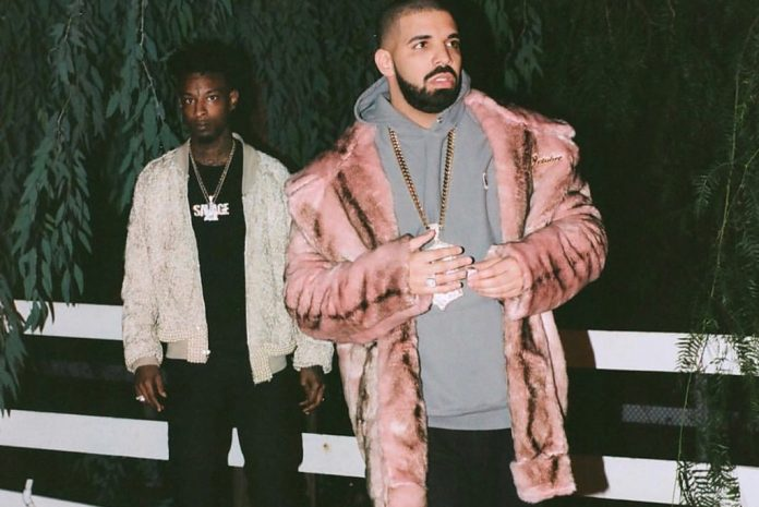 21 Savage, Drake i Young Thug połączyli siły we wspólnym nagraniu.