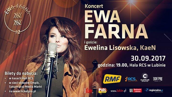 Ewa Farna koncert w Lublinie z okazji 10-lecia na scenie muzycznej