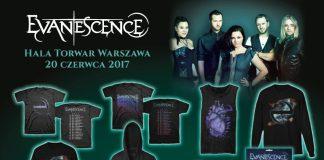 Unikalne gadżety do kupienia na koncercie Evanescence