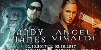 Angel Vivaldi i Andy James na dwóch koncertach w Polsce