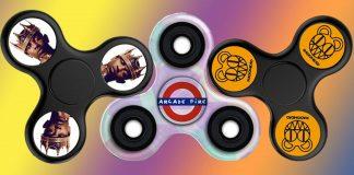 Fidget spinnery z David Bowie, Minor Threat, Radiohead