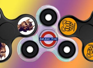 Fidget spinnery z David Bowie, Minor Threat, Radiohead