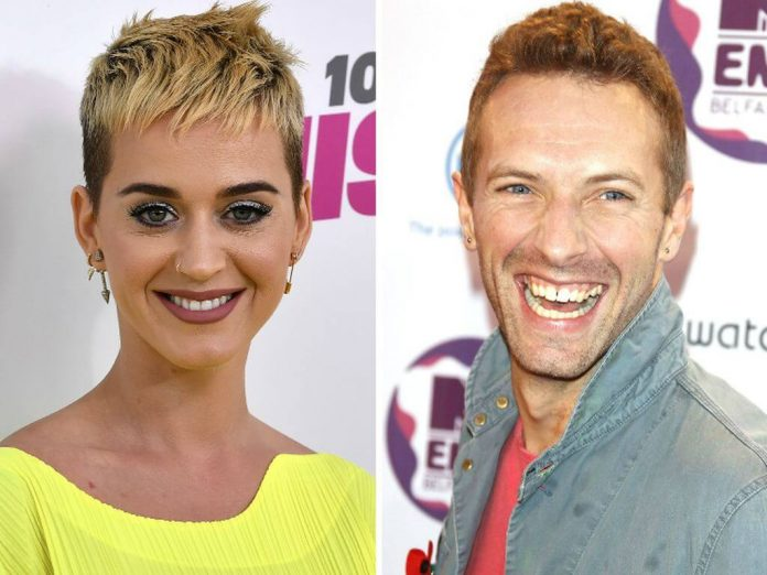 Katy Perry i Chris Martin z Coldplay na randce
