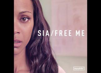 "Sia, Zoe Saldana i Julianne Moore przeciwko HIV! (""Free Me"")"