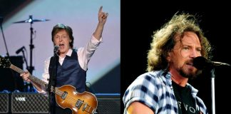 Paul McCartney uderzył wokalistę Pearl Jam, Eddiego Veddera