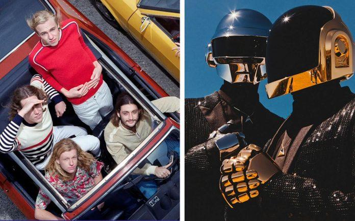 Daft Punk wspierają Parcels (posłuchaj singla