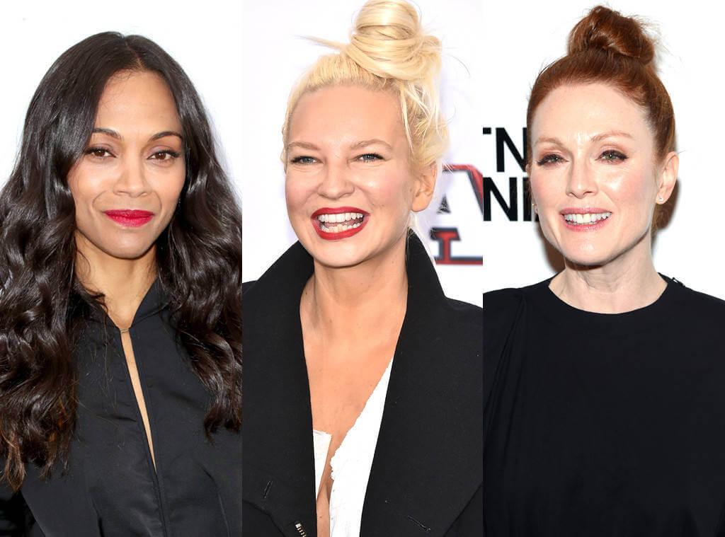 Sia, Zoe Saldana i Julianne Moore przeciwko HIV!