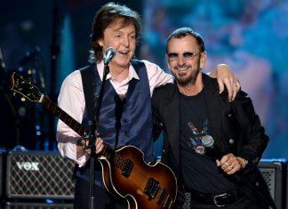 """Paul McCartney i Ringo Starr w jednym utworze """"We're On the Road Again"""""""