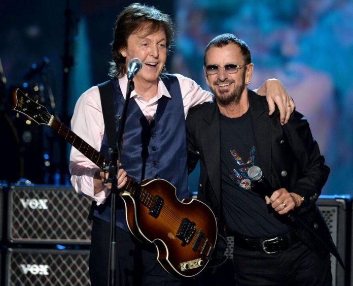 Paul McCartney i Ringo Starr w jednym utworze