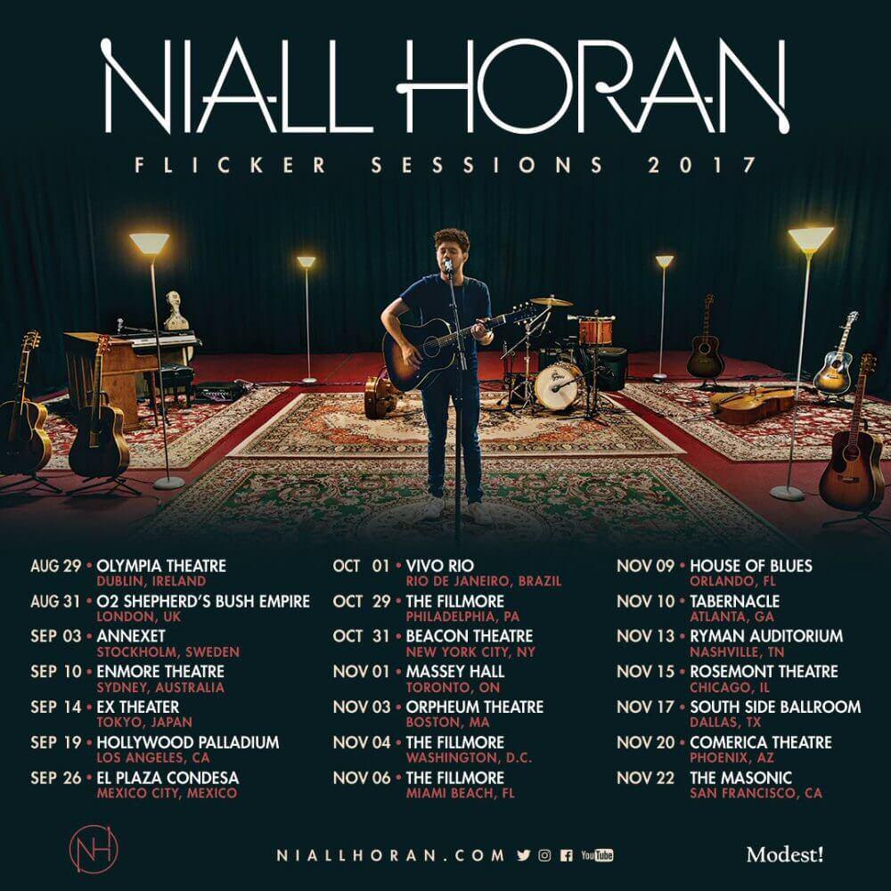 """Niall Horan wystąpi w Polsce? Muzyk ogłosił trasę """"Flicker Sessions 2017"""""""