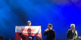 Bono z U2 wspiera Polaków (zobacz, co się działo na koncercie)