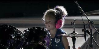 Metallica: Mała dziewczynka zajęła miejsce perkusisty (WIDEO)