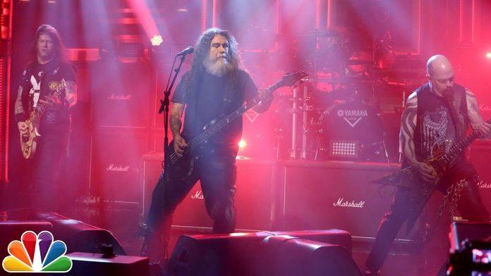 Slayer gra w telewizji (zobacz występ na żywo