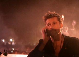 Frank Ocean: Brad Pitt częścią show koncertowego (WIDEO)
