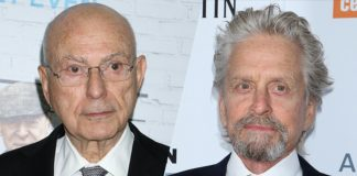"Michael Douglas i Alan Arkin w serialu Netfliksa ""The Kominsky Method"""