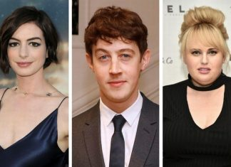 Alex Sharp u boku Rebel Wilson i Anne Hathaway w Nasty Women
