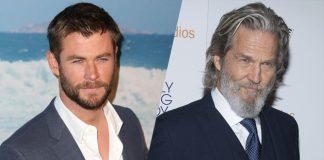 Chris Hemsworth i Jeff Bridges w hotelu w latach 60.