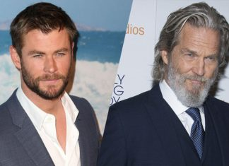 Chris Hemsworth i Jeff Bridges w hotelu w latach 60.