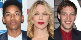Courtney Love i James Jagger oraz Laura Dern udają mężczyznę - po co ?!