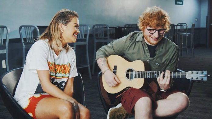Rita Ora i Ed Sheeran akustycznie w piosence
