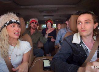 Miley Cyrus z rodziną w Carpool Karaoke (WIDEO)