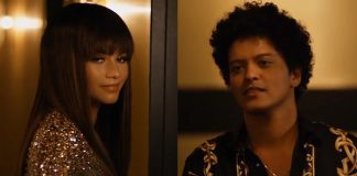 "Bruno Mars flirtuje z Zendaya w teledysku ""Versace On The Floor"""
