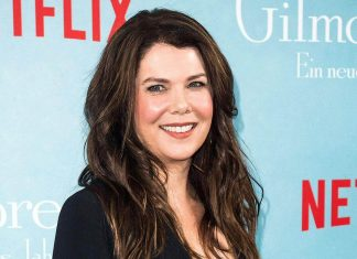 Lauren Graham ukochaną Larry'ego Davida