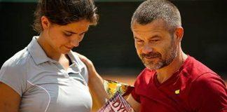 Jacek Braciak trenuje córkę-tenisistkę