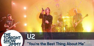 U2: Antytrumpowy występ w talk show (WIDEO)