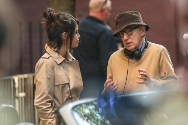 Selena Gomez na planie filmu Woody'ego Allena (ZDJĘCIA)