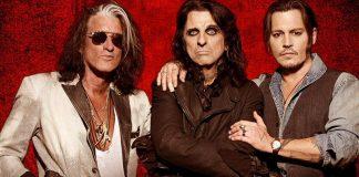 Johnny Depp, Alice Cooper i Joe Perry