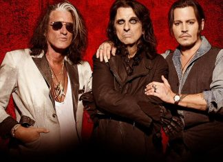 Johnny Depp, Alice Cooper i Joe Perry