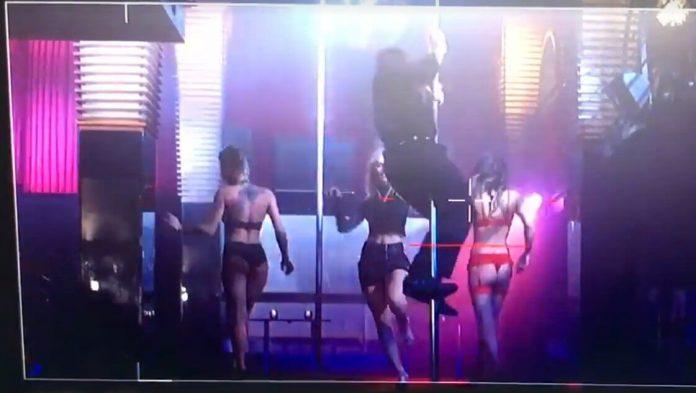 Kobiety mafii: Piotr Stramowski tańczy na rurze (WIDEO)