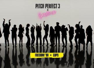 Dziewczyny z Pitch Perfect 3 i uczestnicy The Voice razem