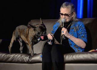 """Pies Carrie Fisher w """"Gwiezdnych wojnach"""""""