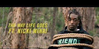 Lil Uzi Vert z Nicki Minaj w lesie (zobacz teledysk The Way Life Goes)