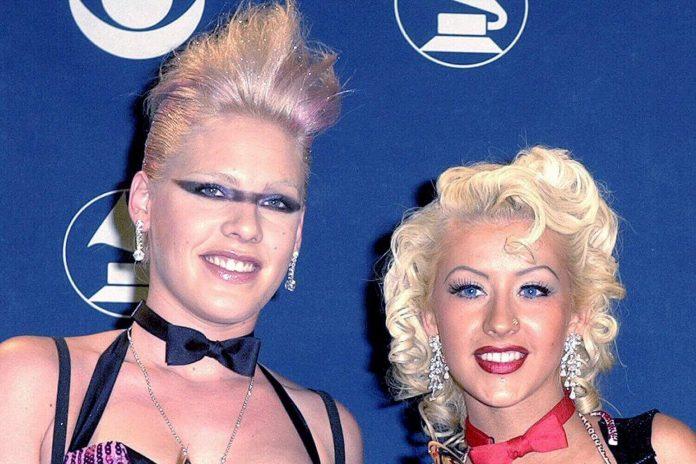 Christina Aguilera i Pink nagrały w tajemnicy duet