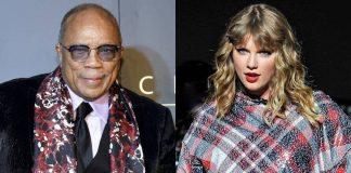Quincy Jones nie lubi Taylor Swift