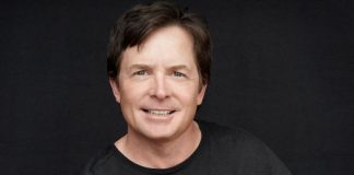 Michael J. Fox z prezydentem Kieferem Sutherlandem
