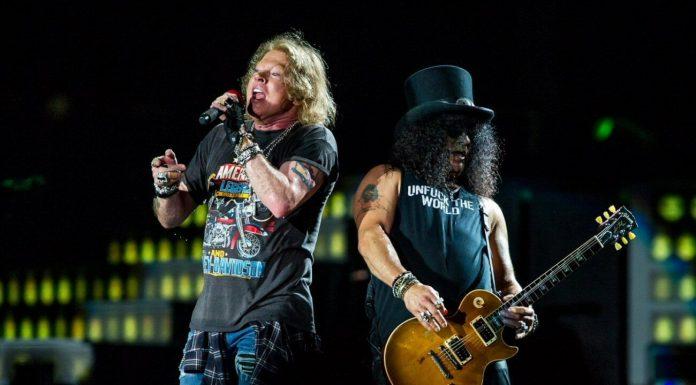 """Slash z Guns N'Roses: """"Pogodzenie się z Axlem było jak catharsis"""""""