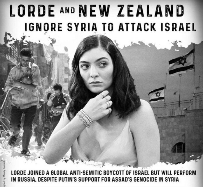 Ortodoksyjny rabin krytykuje Lorde i nazywa ją fanatyczką