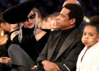 Blue Ivy największą gwiazdą Grammy 2018! Pouczała Beyonce i JAY-Z