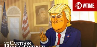 Donald Trump w animowanym serialu Our Cartoon President (WIDEO)