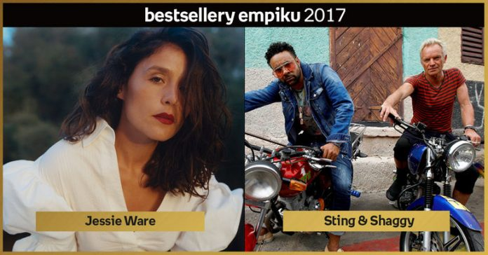 Bestsellery Empiku 2017 Sting i Shaggy w duecie oraz Jessie Ware