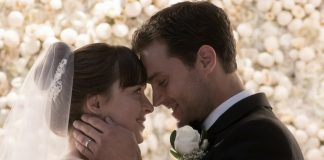 Nowe oblicze Greya: Jamie Dornan, filmowy Grey, śpiewa Paula McCartneya