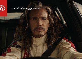 Steven Tyler z Aerosmith wystąpił w pomysłowej reklamie samochodu.