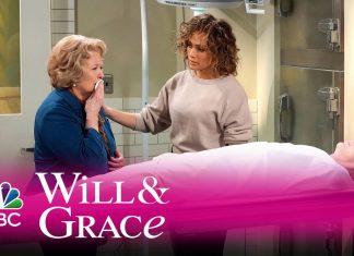 """Zobacz Jennifer Lopez w podwójnej roli w serialu """"Will i Grace"""""""