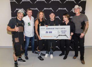 Metallica wspiera Banki Żywności w Polsce