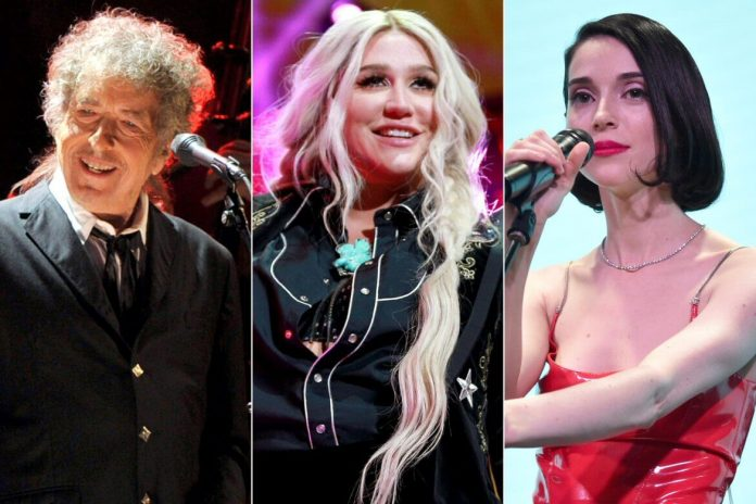 Kesha, Bob Dylan i St. Vincent śpiewają piosenki dla par homoseksualnych
