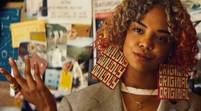 Tessa Thompson w niegrzecznym filmie Bootsa Rileya